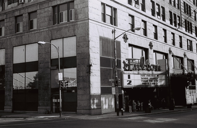 The Fulton Theatre, October 1981
