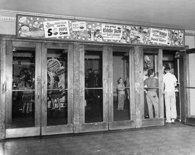 Lobby entrance 1950's
