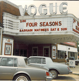 VOGUE Theatre, Shaker Heights, Ohio in July, 1981.