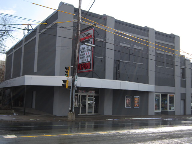 Exterior of Oxford Theatre