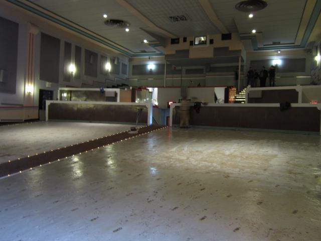 Interior during renovation