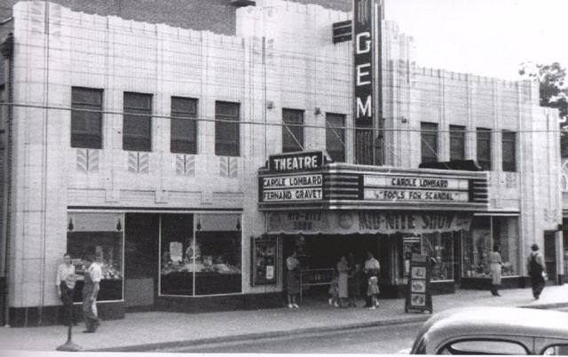 Kannapolis (NC) United States  city photo : Gem Theatre in Kannapolis, NC Cinema Treasures