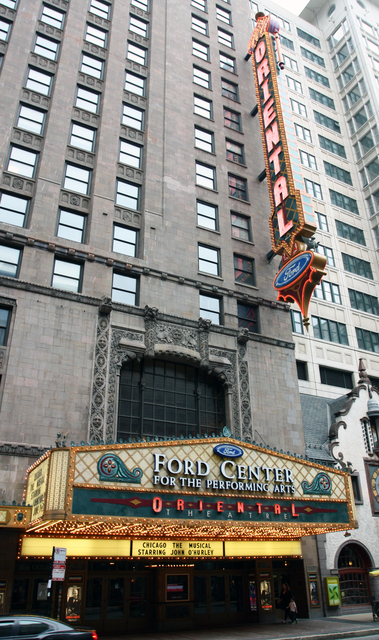 Oriental Theatre, Chicago, IL