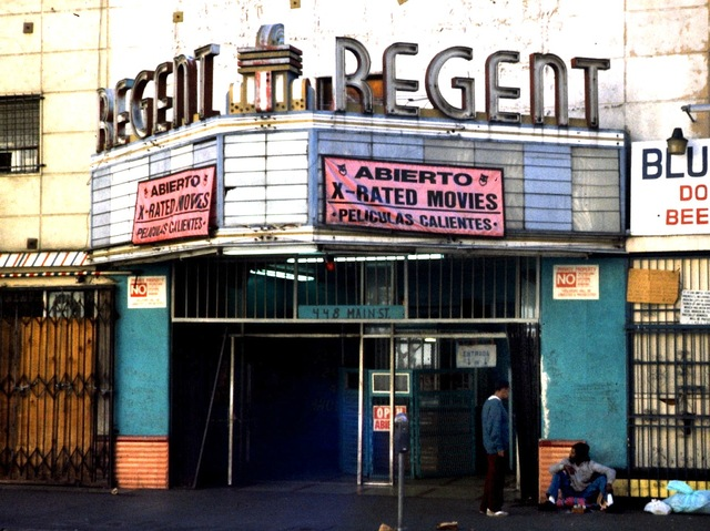 Regent Theatre on Main Street LA