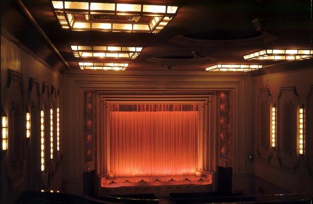 Rex Theatre auditorium.