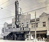ROOSEVELT Theatre, Kenosha, Wisconsin, in about 1940.