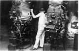 Edward F. Mooney, projectionist