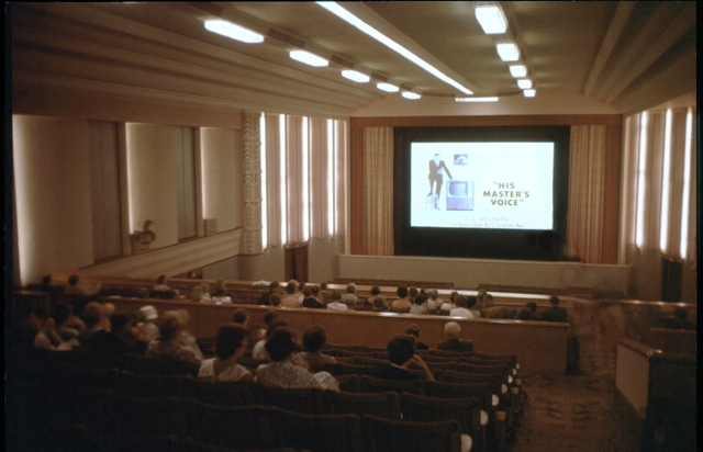Auditorium after alterations for CinemaScope exhibition (1950s)
