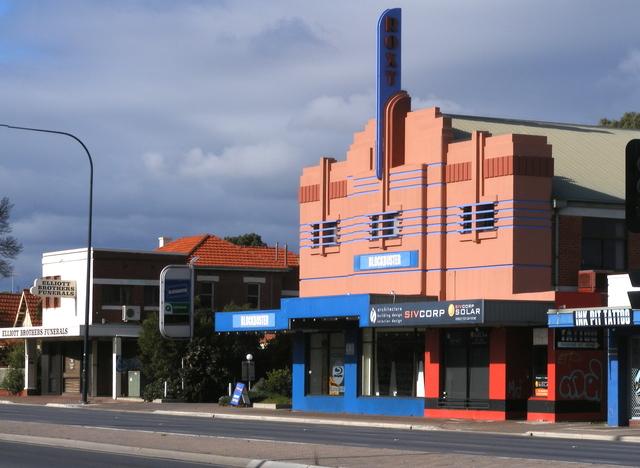 ROXY Theatre, Anzac Highway (Everard Park).