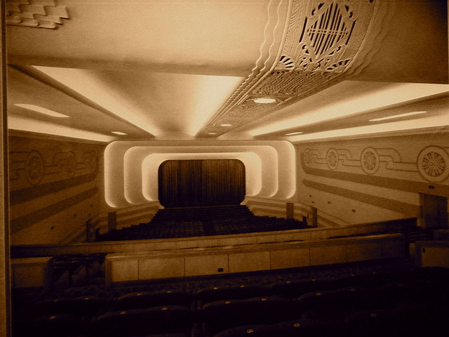 The NEW STAR Theatre's auditorium.