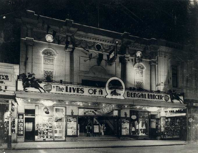 REX Theatre Frontage.