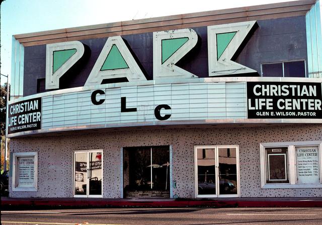 Park Theatre as a Church