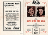 """Gone With The Wind' Programme."