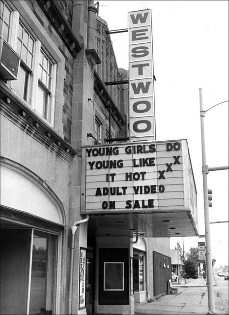 Westwood Art Theater in the 80s