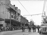 Cinesound newsreel films a parade