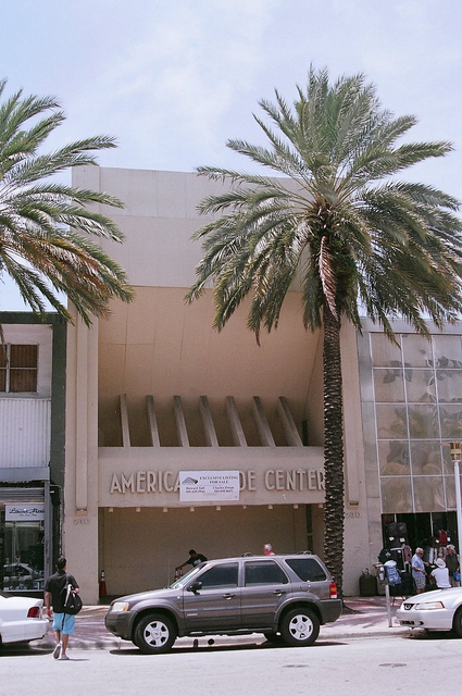 Former Carib Theatre Miami Beach