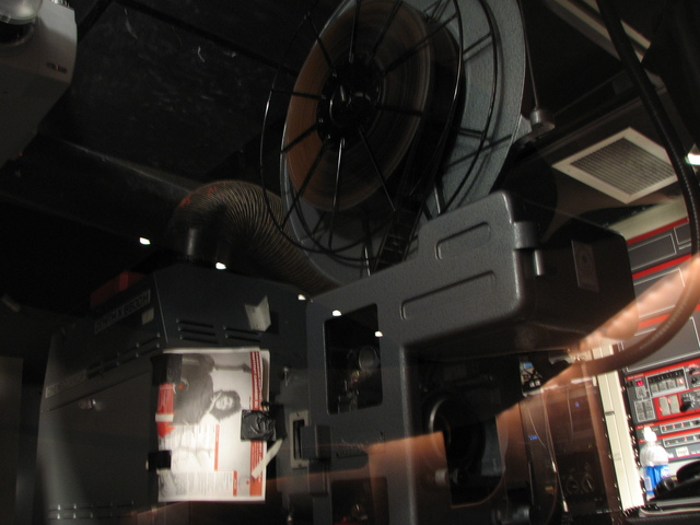 One of the projectors
