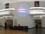 Lobby area outside theatre