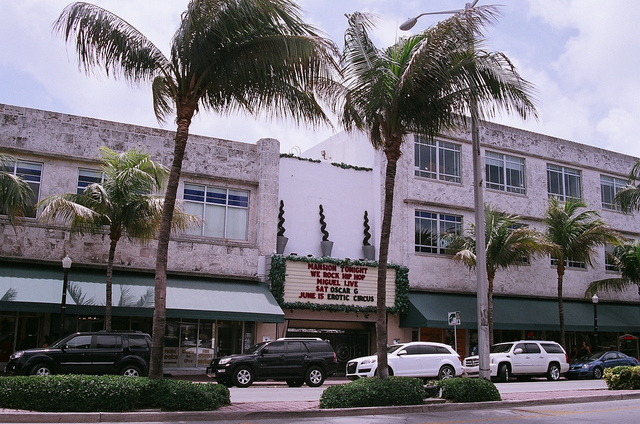 Former Cinema Theatre Miami Beach