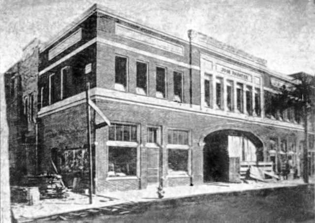 The Joie when it opened in 1921