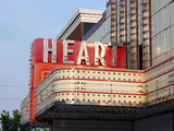 Heart Theater, Effingham, IL - sign