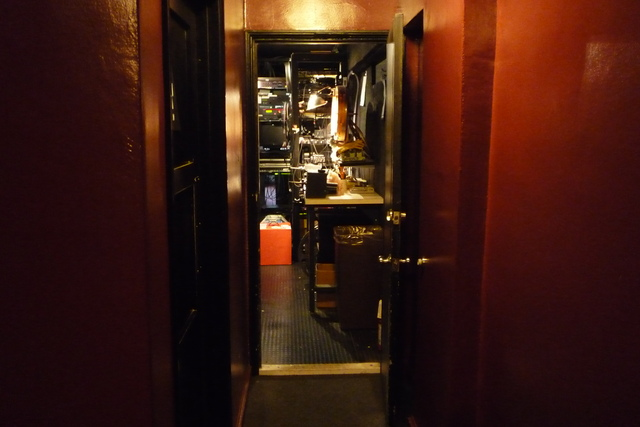 Aero Theatre - Projection Booth Entrance
