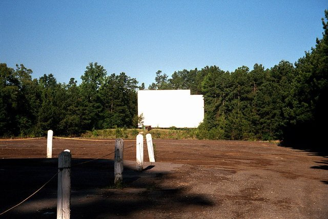 Apache Drive-In Screen