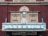 Lorraine Theatre, Hoopeston, IL - marquee