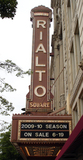 Rialto Square Theatre, Joliet, IL - vertical sign