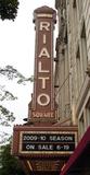 Rialto Square Theatre, Joliet, IL - vertical sign
