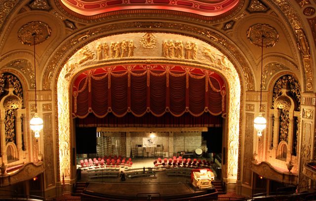 Rialto Square Theatre, Joliet, IL - auditorium