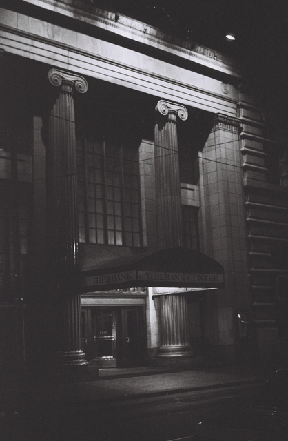 The Bank Center at Night