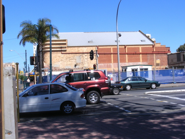 Eastern side of the Wallis Cinema Centre, originally the OZONE.