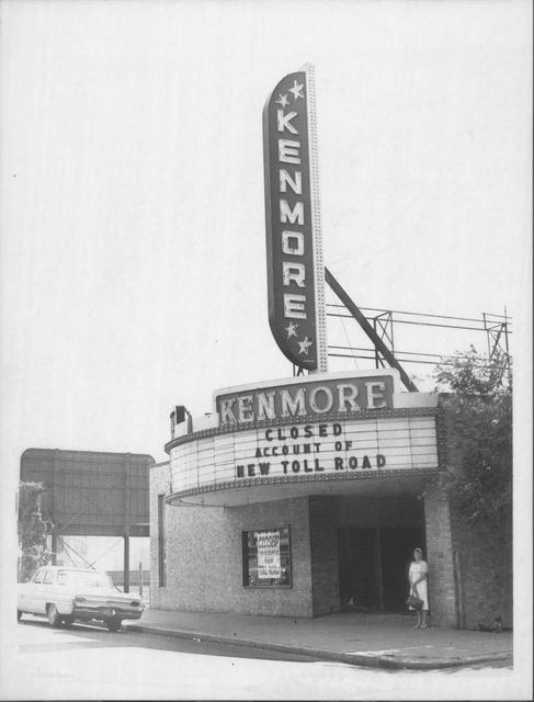 Kenmore theatre, just before demolition