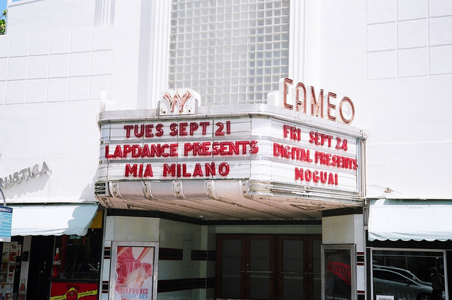 Marquee Of The Cameo Theatre