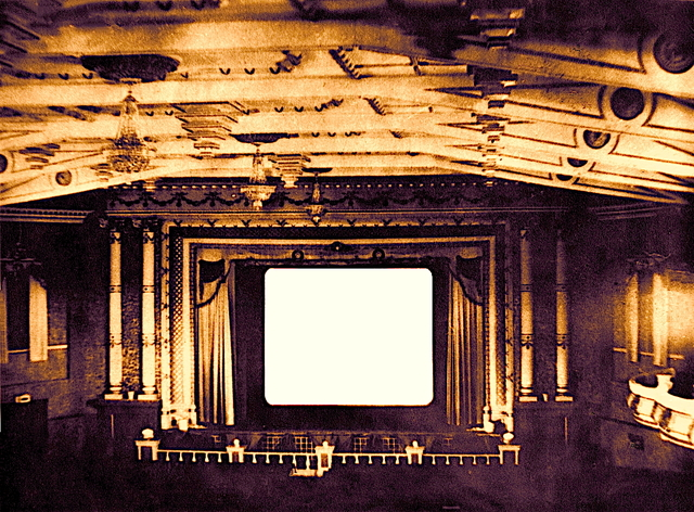 Auditorium, early 1930s.