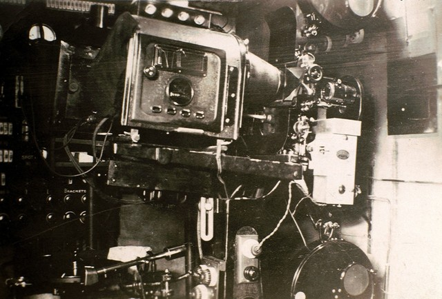Operating side of one of the Star's projectors.