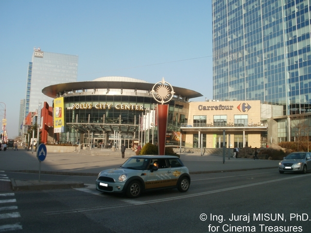 Polus City Center Main Entrance