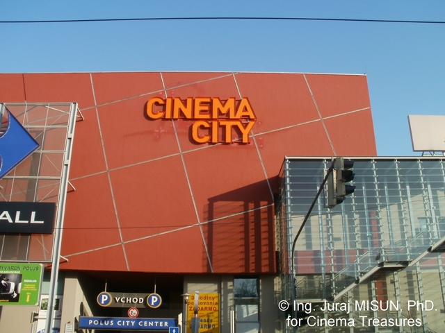 Cinema City Outdoor Sign
