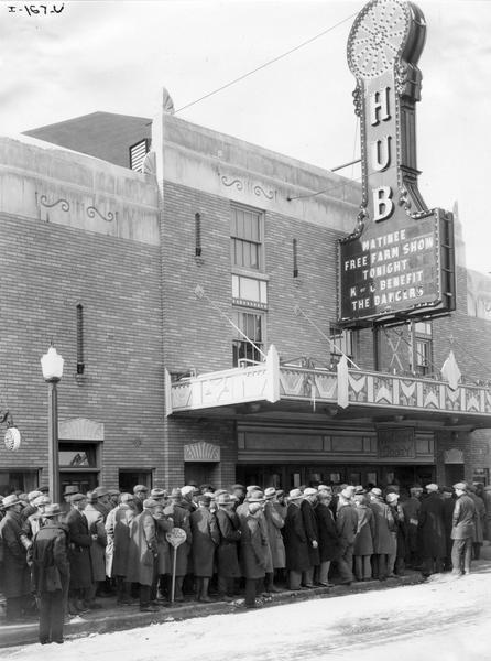 Hub Theater; Rochelle, Il