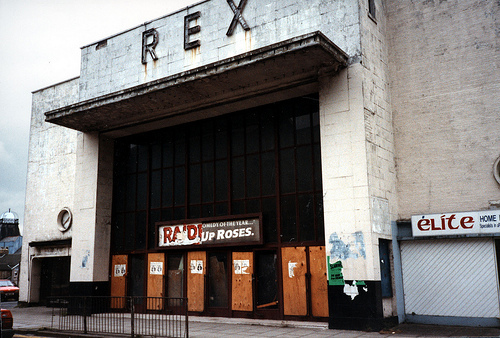 Rex Cinema - Wind Street, Aberdare - 1989