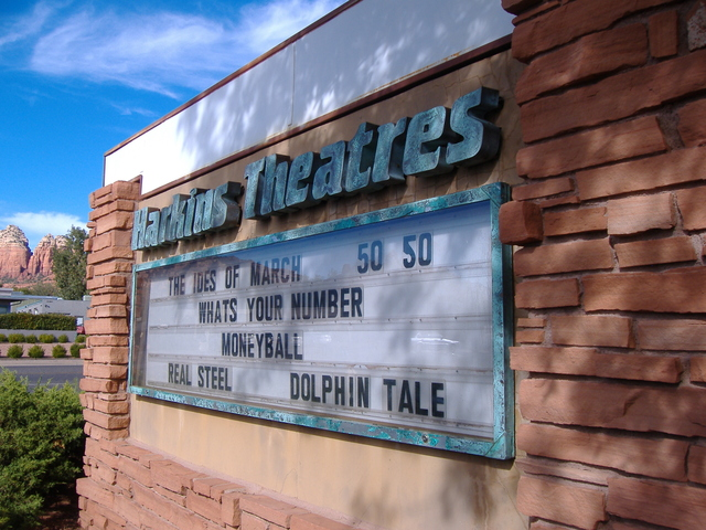 Marquee for the Harkins Sedona 6
