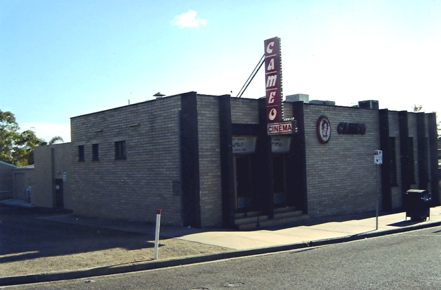 The Cameo Theatre exterior.