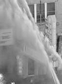 Rialto fire in 40s