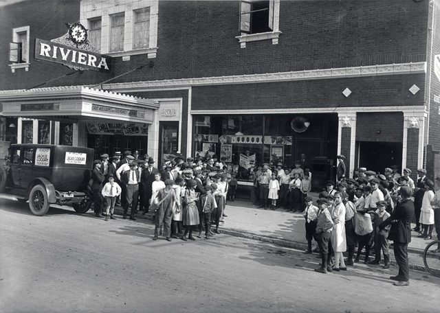 RIVIERA Theatre, Milwaukee, Wisconsin in 1921.