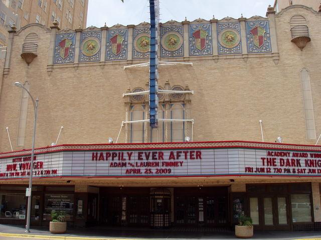 Paramount Theatre marquee