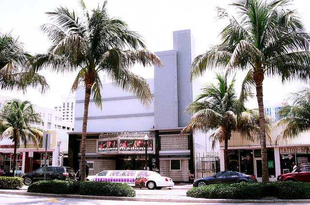 Former Roxy Theatre Miami Beach