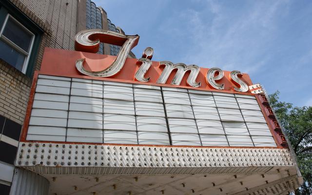 Times Theatre, Rockford, IL - marquee