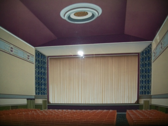 Capitol Cinema..       refurb for 70mm screen