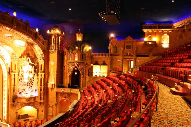 Coronado Performing Arts Center, Rockford, IL - balcony